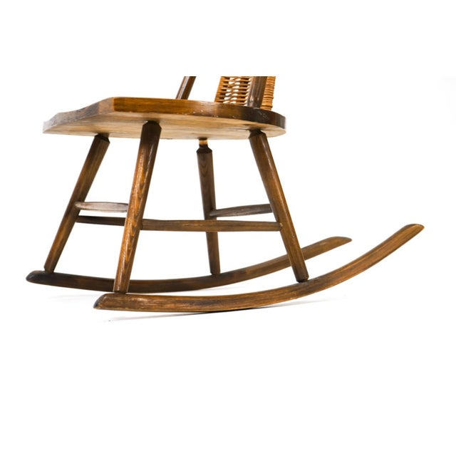 Vintage Arthur Umanoff for Washington Woodcraft Rocking Chair For Sale In Washington DC - Image 6 of 10