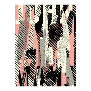 2017 Contemporary Music Poster, John Maus For Sale