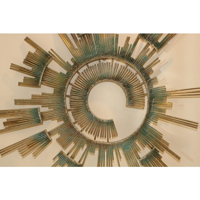 Abstract 1980s Curtis Jere Retro Modern Abstract Wall Sculpture For Sale - Image 3 of 13