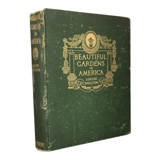"""1915 """"Great Gardens in America"""" First Edition Book For Sale"""