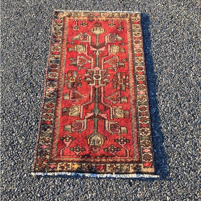 "Zanjan Persian Rug - 2'2"" X 4'1"" - Image 2 of 8"