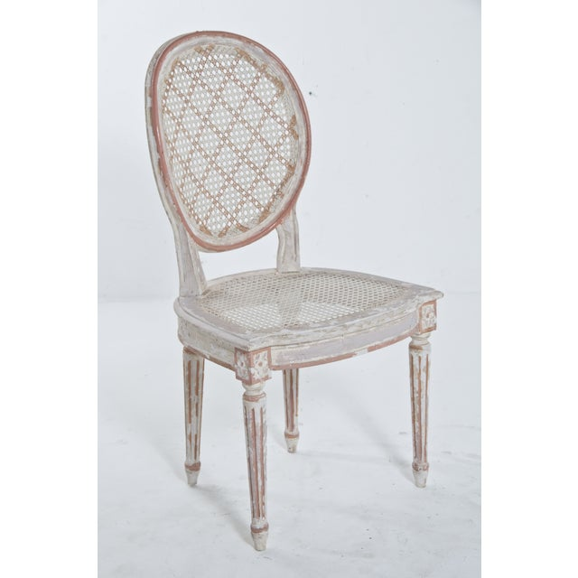 French Caned Chair - Image 2 of 8