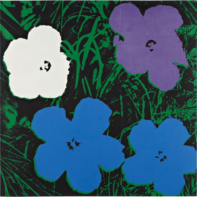 Andy Warhol Sunday B. Morning Flowers Prints - S/4 - Image 3 of 5