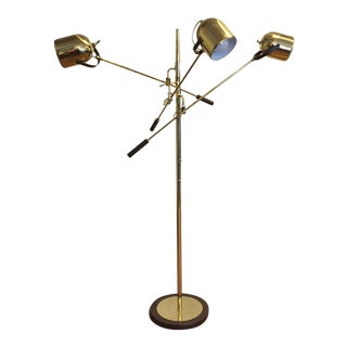 Clover Lamp Co. Mid-Century Floor Lamp