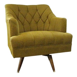 Mid Century Vintage Lounge Chair For Sale