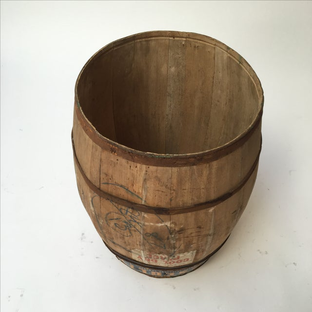 Antique Laundry Detergent Barrel - Image 8 of 9