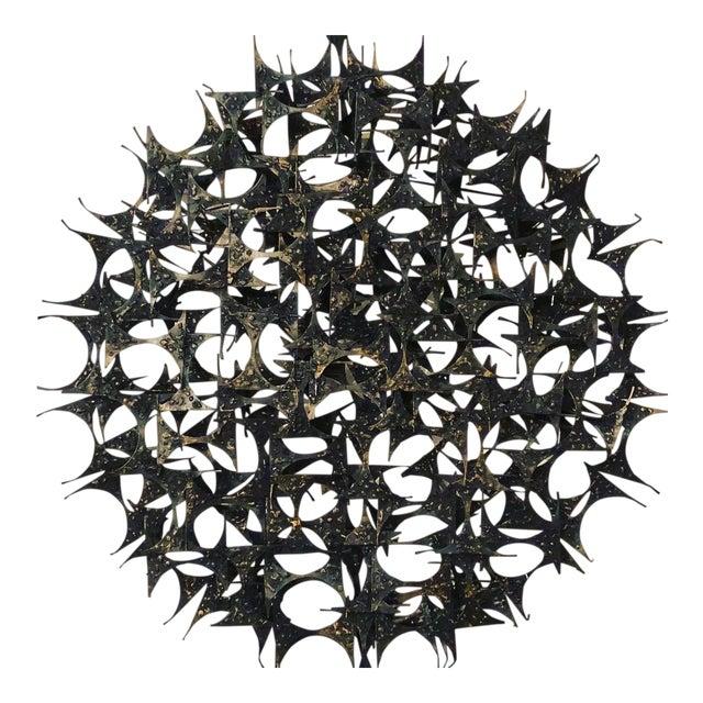 Midcentury Brutalist Wall Sculpture by Marc Weinstein For Sale