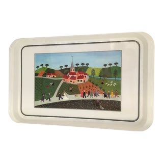 Villeroy and Bosch Naïf Wedding Procession Serving Tray For Sale