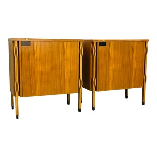 Ico Parisi Small Storage Cabinets - a Pair For Sale