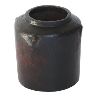 Black Wooden Container For Sale