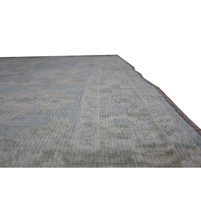 """Aara Rugs Inc. Hand Knotted Oushak Rug - 8'0 X 5'3"""" For Sale - Image 5 of 6"""