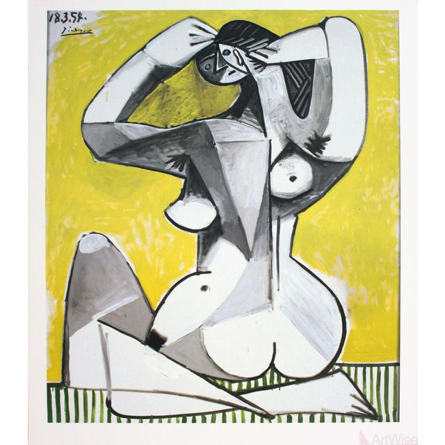 "Pablo Picasso ""Nu Accroupi"" 2002 Poster - Image 1 of 2"