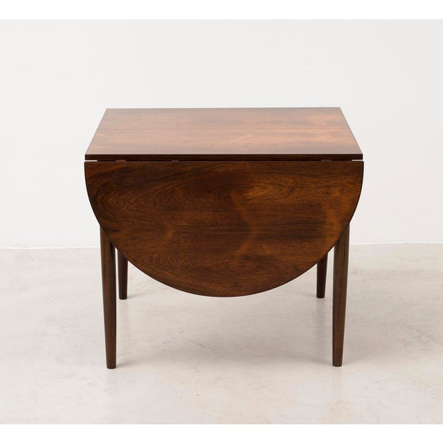 Mid-Century Modern Niels Moller Extending Dining Table in Rosewood, Denmark 1950s For Sale - Image 3 of 12