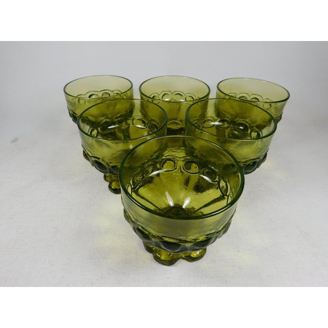 Franciscan Green Madeira Coupes - Set of 6 - Image 3 of 5