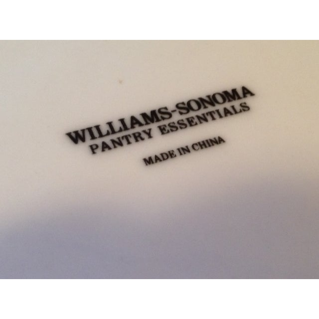 Williams Sonoma White Pedestal Bowl - Image 4 of 4