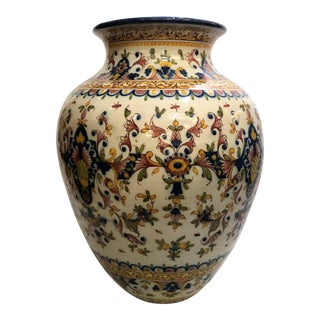 Original Estate Portugese Garden Urn, Circa 1950's. For Sale