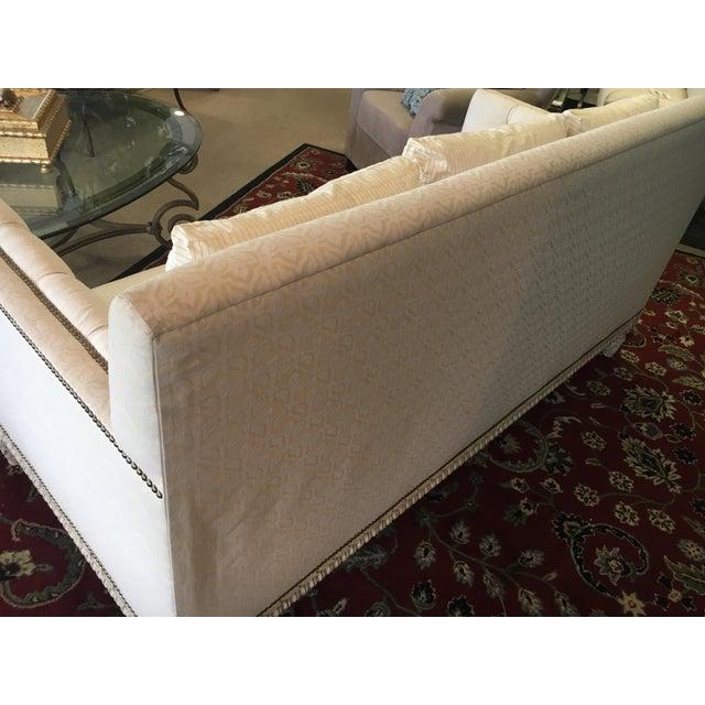 William Switzer Ivory Sofa - Image 8 of 9