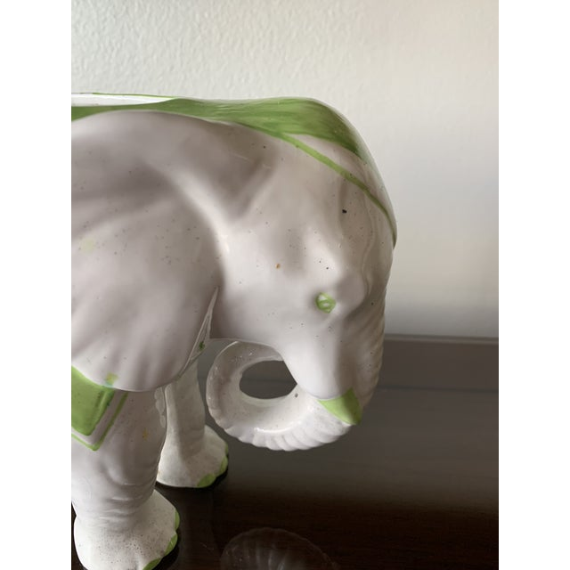 1970s 1970s Vintage Elephant Planter For Sale - Image 5 of 12