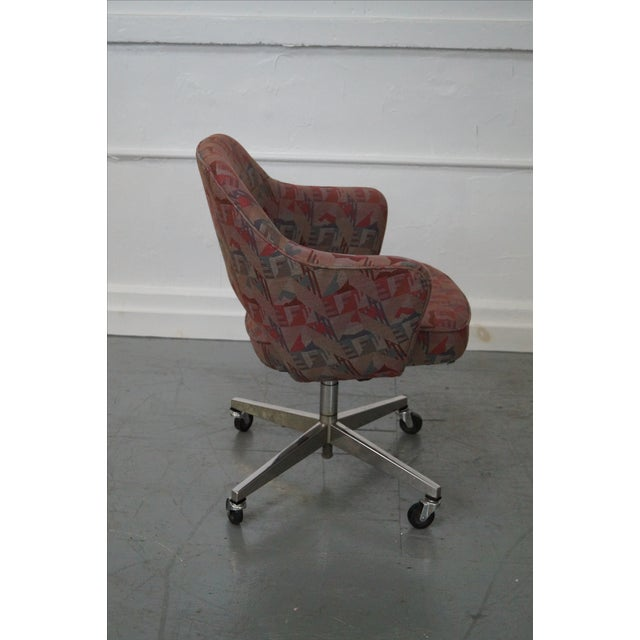 Vintage Mid-Century Saarinen Office Chair - Image 3 of 10