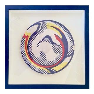 """Roy Lichtenstein """"Paper Plate"""" Print"""