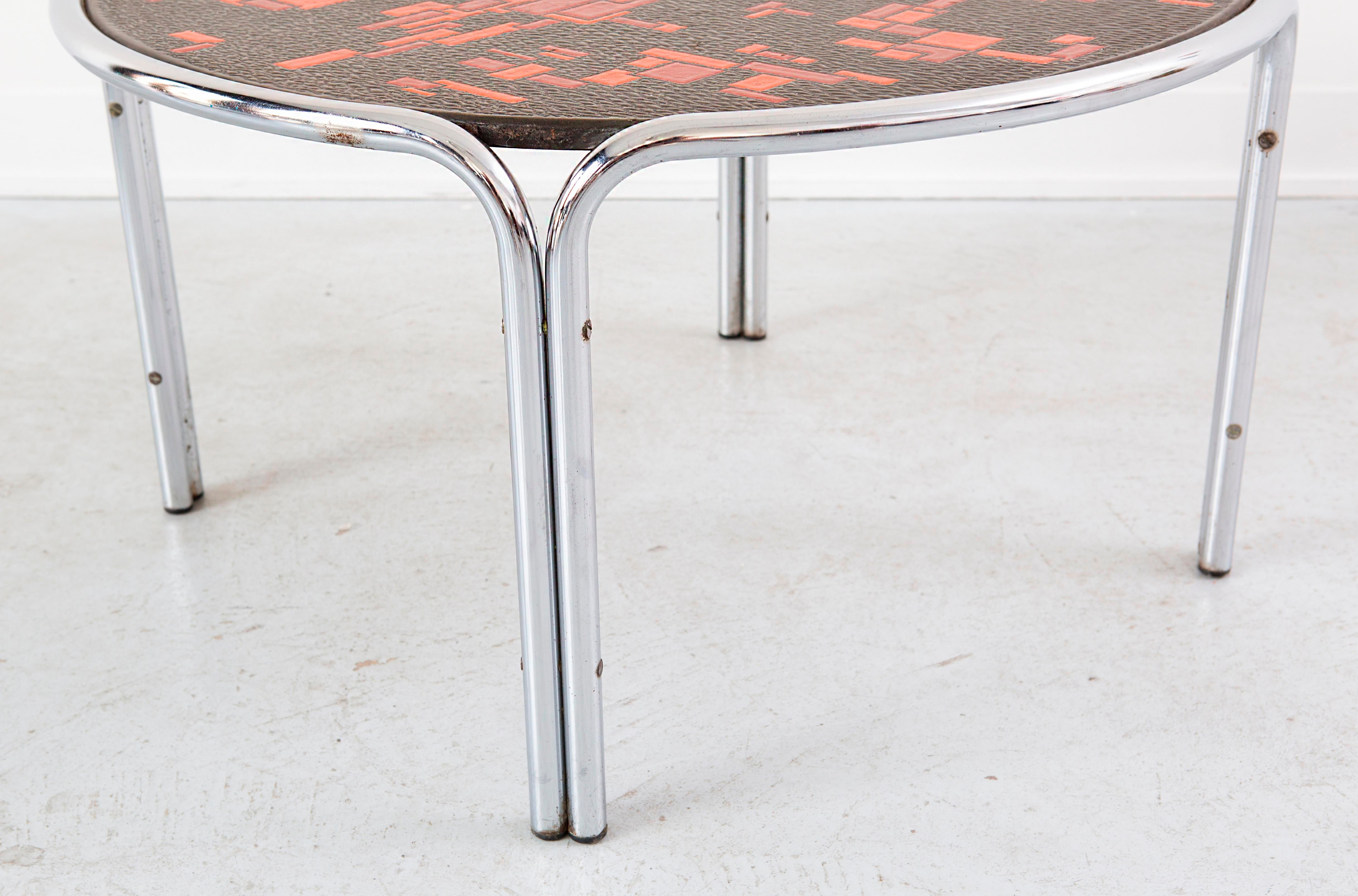 Mid Century Cocktail Table Attributed To Roger Capron   Image 7 Of 7