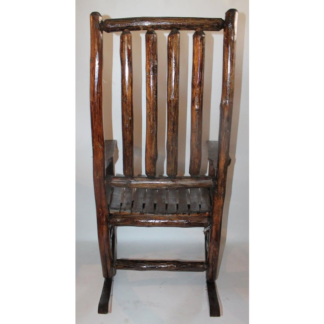 Admirable Old Hickory Porch Rocking Chair Machost Co Dining Chair Design Ideas Machostcouk