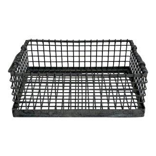 Industrial Wire Basket For Sale