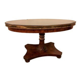 A Neoclassical Centre Table By Francesco Molon For Sale