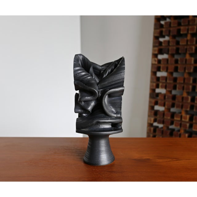 Tim Keenan Abstract Ceramic Sculpture For Sale - Image 9 of 12