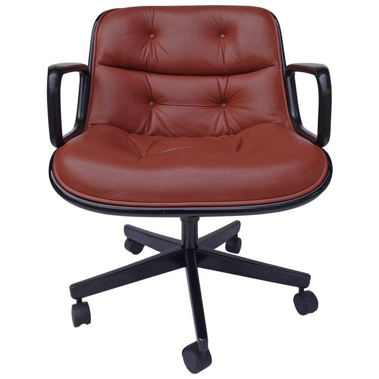 Executive Chair By Charles Pollock For Knoll   Image 6 Of 6