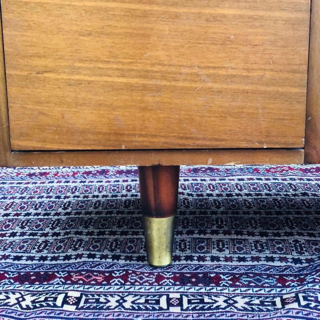 Mid 20th Century Mid-Century Modern Custom Made Filing Cabinet/Credenza For Sale - Image 5 of 11