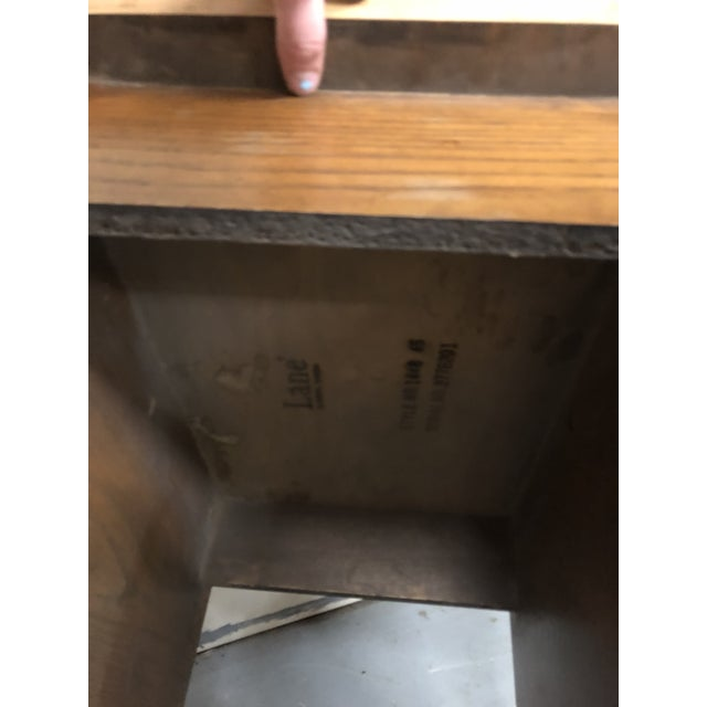 Brown 1970s Mid Century Modern Lane End Tables - a Pair For Sale - Image 8 of 9