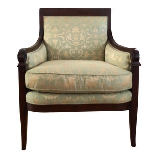 Arts and Crafts Baker Originals Millington Road French Restauration Armchair For Sale