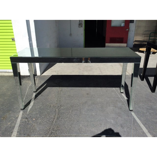 Large Beveled Mirror Hall Table - Image 3 of 7