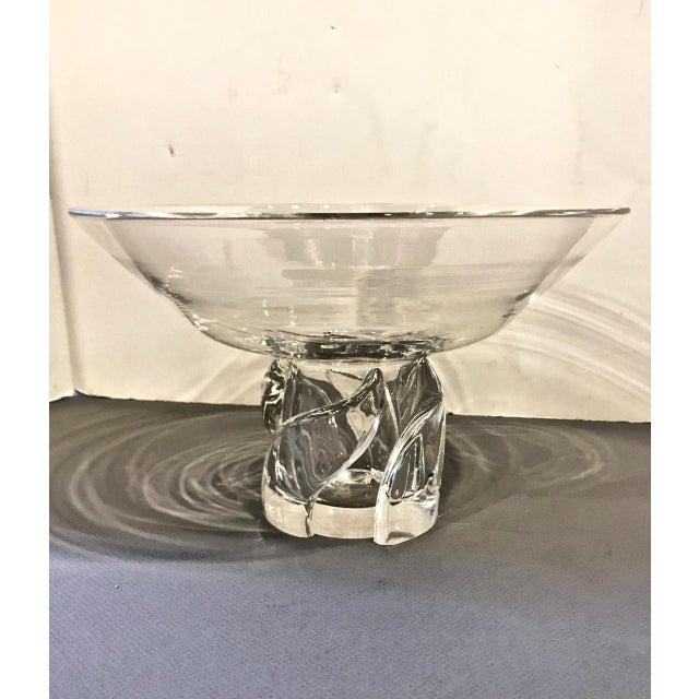 Steuben Glass Steuben Pedestal Bowl, 20th Century For Sale - Image 4 of 4