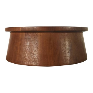 Vintage Dansk Teak Salad Bowl For Sale