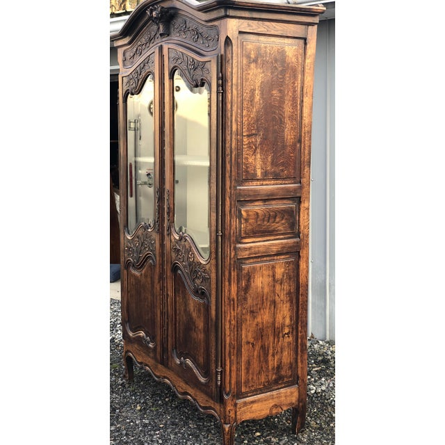 French 19th Century French Armoire / Display Cabinet For Sale - Image 3 of 12