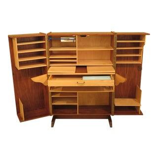 Danish Mid-Century Modern Wooten Style Desk