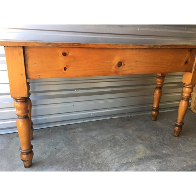 Rustic Handmade Console Table - Image 10 of 11