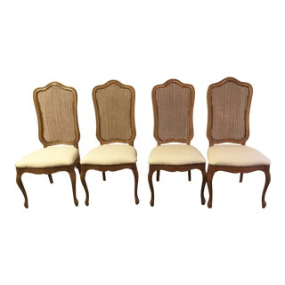 Thomasville Tableau French Oak Dining Chairs- Set of 4 For Sale