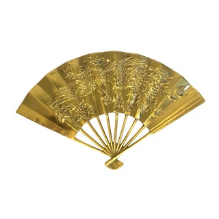 Vintage Taiwanese Brass Fan