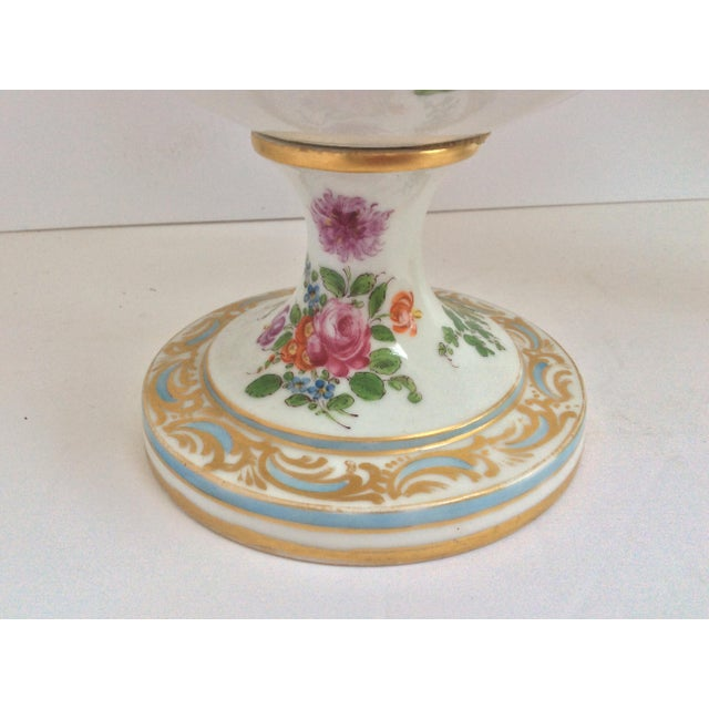 Stunning Large Pair Of Porcelain Urns - Image 2 of 7