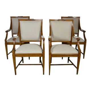1990s Vintage Arm Chairs- Set of 4 For Sale