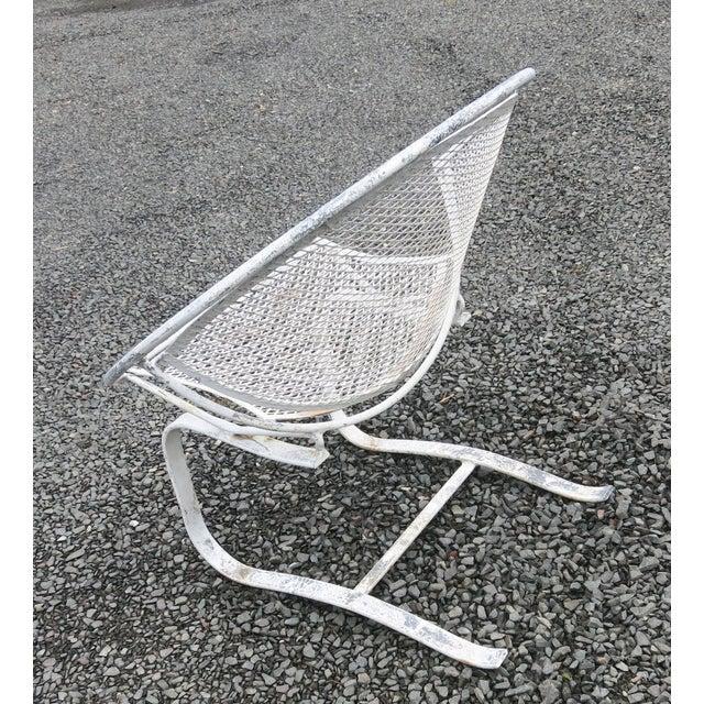 1960s Vintage Salterini Radar Spring Chair Hoop Chair For Sale In New York - Image 6 of 7