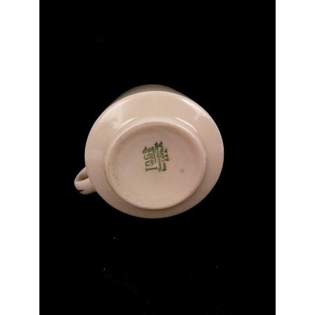 "Art Deco Art Deco Shenango Inca Ware ""Bon's Cafe"" Diner Coffee Mug For Sale - Image 3 of 3"
