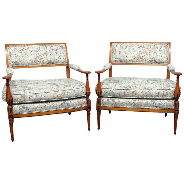 Louis XVI Style Marquis- A Pair For Sale