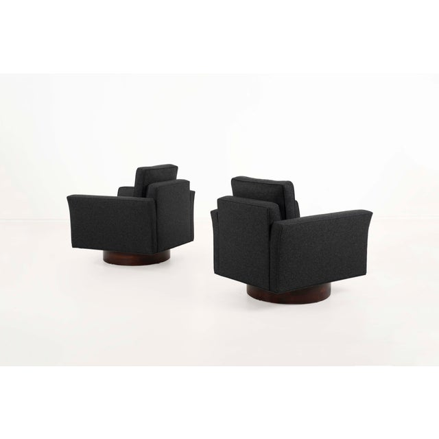1950s 1950s Harvey Probber Lounge Chairs and Ottoman-Set of 3 For Sale - Image 5 of 12