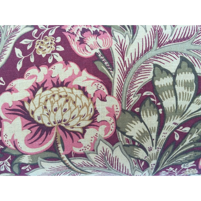 Woven Floral Pillow - Image 5 of 5