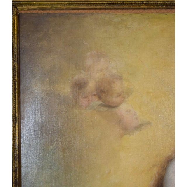 """""""The Immaculate Conception"""" Oil Painting After Giovanni Battista Tiepolo For Sale - Image 4 of 13"""