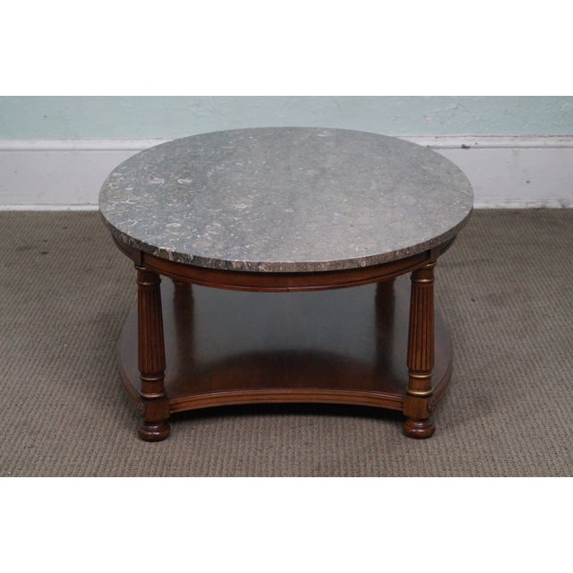 Empire Heritage French Empire Style Coffee Table For Sale - Image 3 of 10